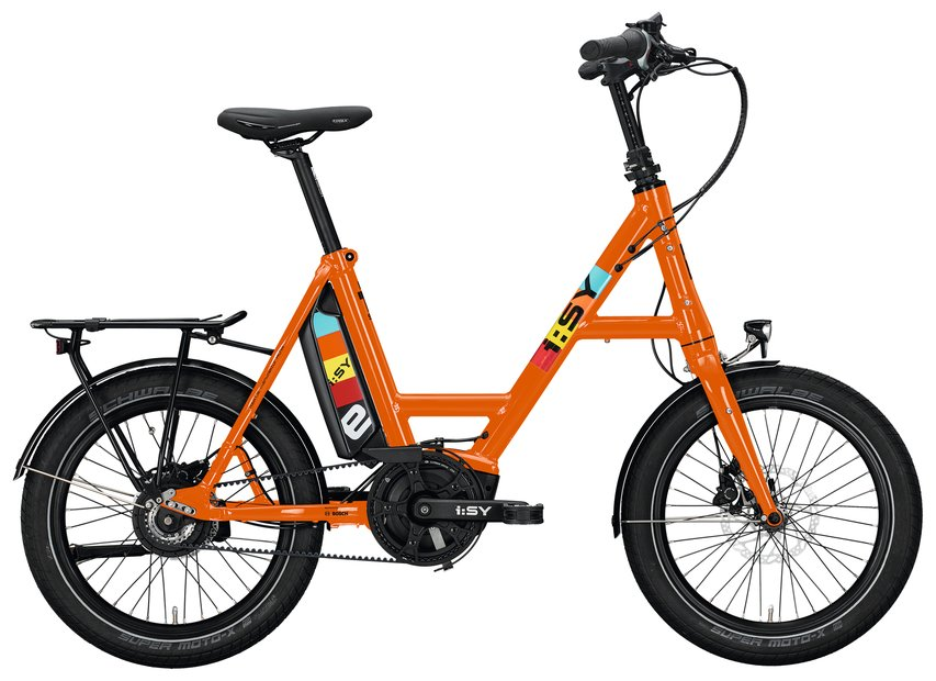 E-Bikes/e-bike: ISY  DrivE N3.8 ZR Orange Modell 2021