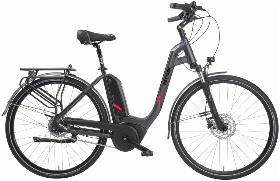 Kettler Traveller E Gold RT ST E-Bike Grau Modell 2019