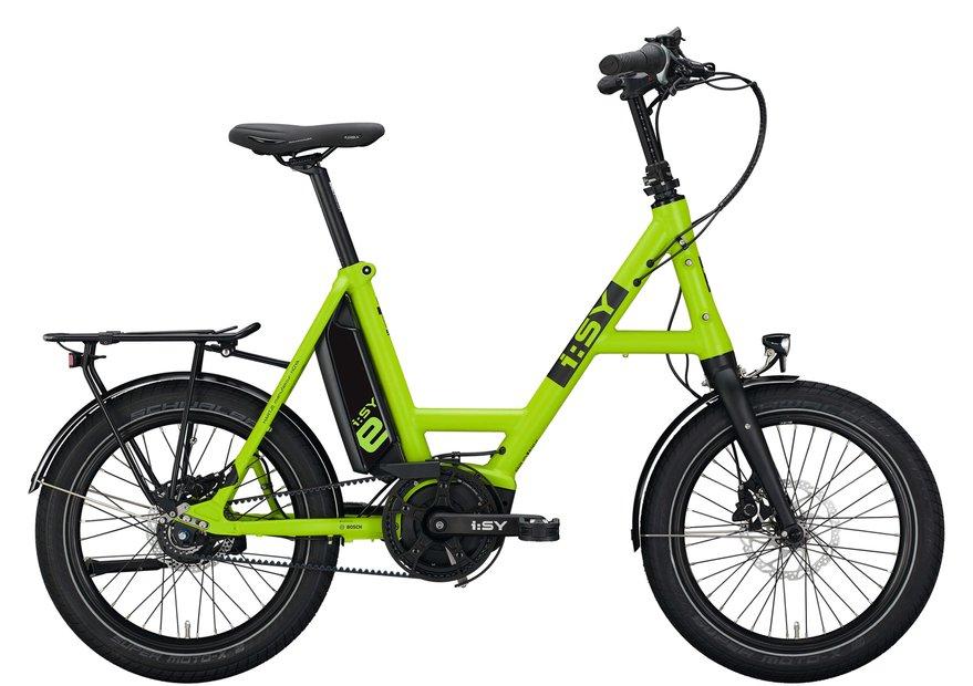 E-Bikes/e-bike: ISY  DrivE N3.8 ZR Grün Modell 2021