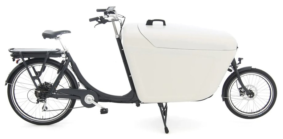 Fahrräder/lastenfahrräder: Babboe  Pro Bike-E Grau Modell 2021