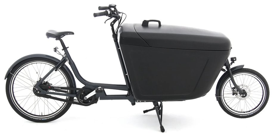 Fahrräder/lastenfahrräder: Babboe  Pro Bike Midmotor Grau Modell 2021