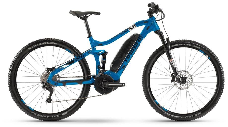 Haibike SDURO FullNine 3.0 E Bike Blau Modell 2020