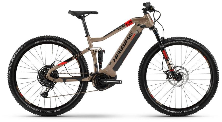 Haibike SDURO FullNine 4.0 E-Bike Beige Modell 2020