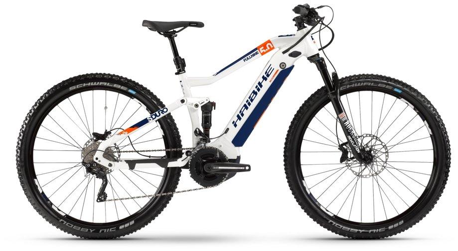 Haibike SDURO FullNine 5.0 E-Bike Weiß Modell 2020