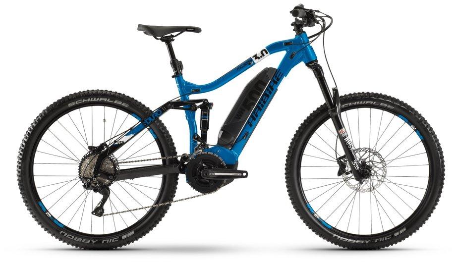 Haibike SDURO FullSeven LT 3.0 E-Bike Blau Modell 2020*