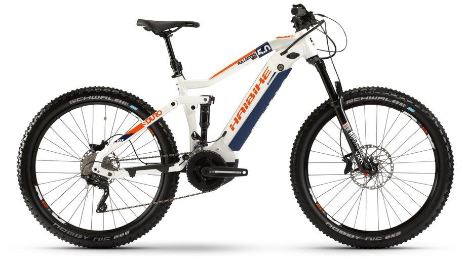 E-Bikes/e-bike: Haibike  SDURO FullSeven LT 5.0 Weiß Modell 2020