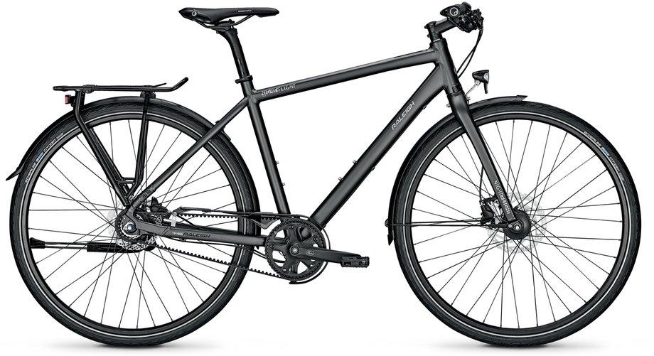Fahrräder/citybike: Raleigh  Nightflight DLX Schwarz Modell 2021