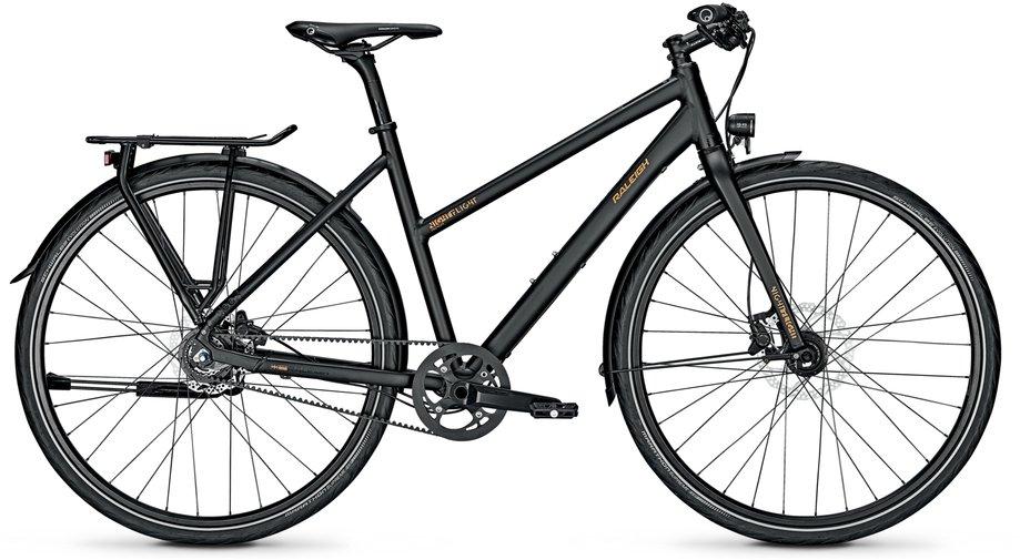 Fahrräder/citybike: Raleigh  Nightflight Premium Schwarz Modell 2021