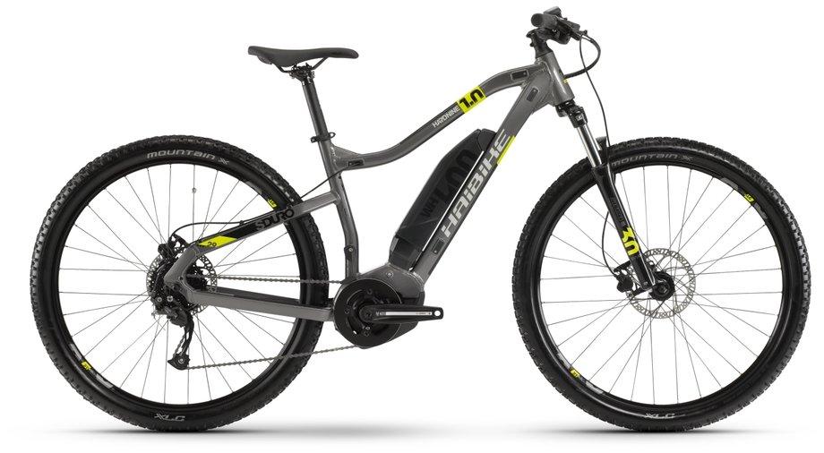 Haibike SDURO HardNine 1.0 E-Bike Grau Modell 2020