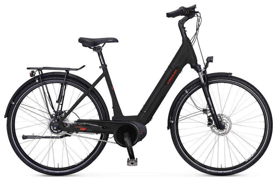 E-Bikes/e-bike: Kreidler  Vitality Eco 8 Schwarz Modell 2021