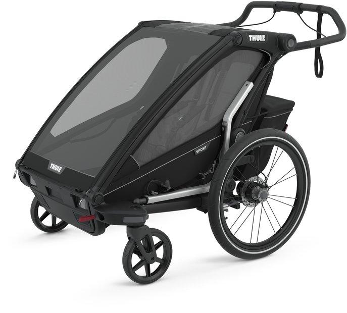 fahrradanhänger/fahrradanhänger: Thule  Chariot Sport 2 Schwarz Modell 2021
