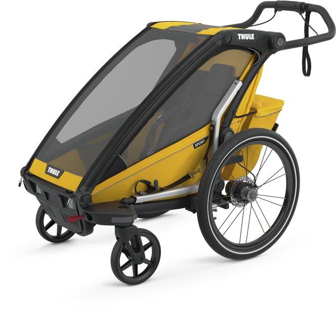 fahrradanhänger/fahrradanhänger: Thule  Chariot Sport 1 Gelb Modell 2021
