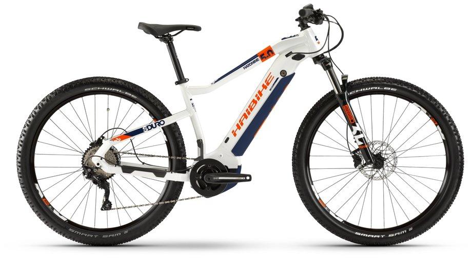 Haibike SDURO HardNine 5.0 E-Bike Weiß Modell 2020*