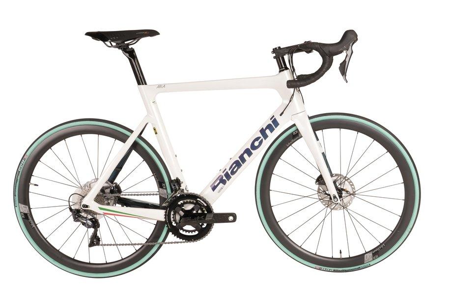 Fahrräder/rennräder: Bianchi  Aria Ultegra Disc LTD Weiß Modell 2021