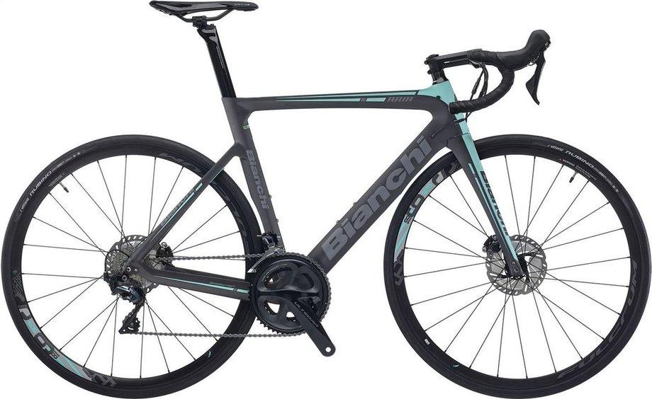Fahrräder/rennräder: Bianchi  Aria Ultegra Disc LTD Schwarz Modell 2021