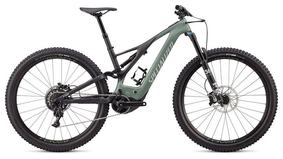 E-Bikes/e-bike: Specialized  Levo Expert Carbon 29 Grün Modell 2020