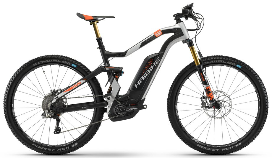 E-MTB Fully E-Mountenbike Haibike Xduro FullSeven Carbon 100 Schwarz*