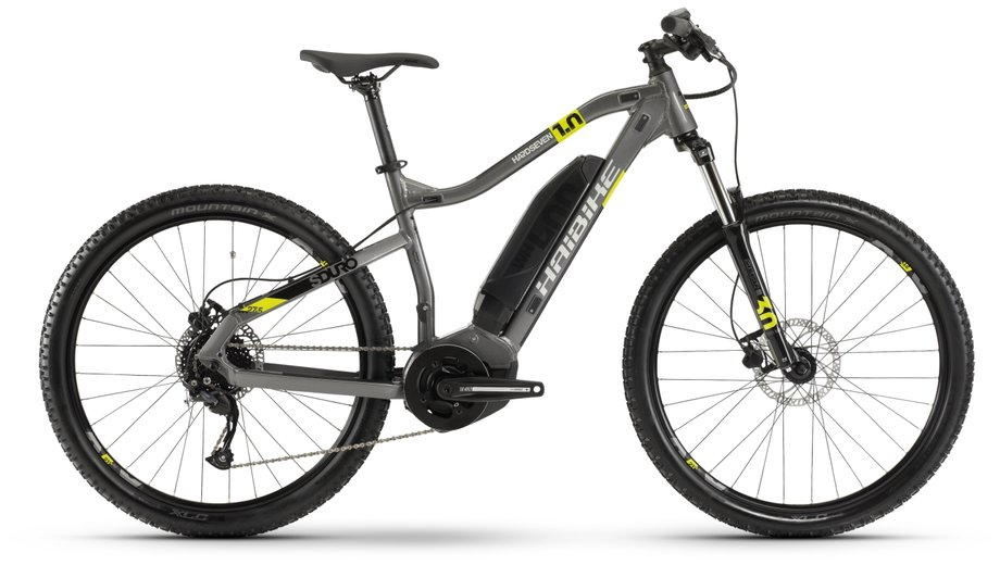 Haibike SDURO HardSeven 1.0 E-Bike Grau Modell 2020