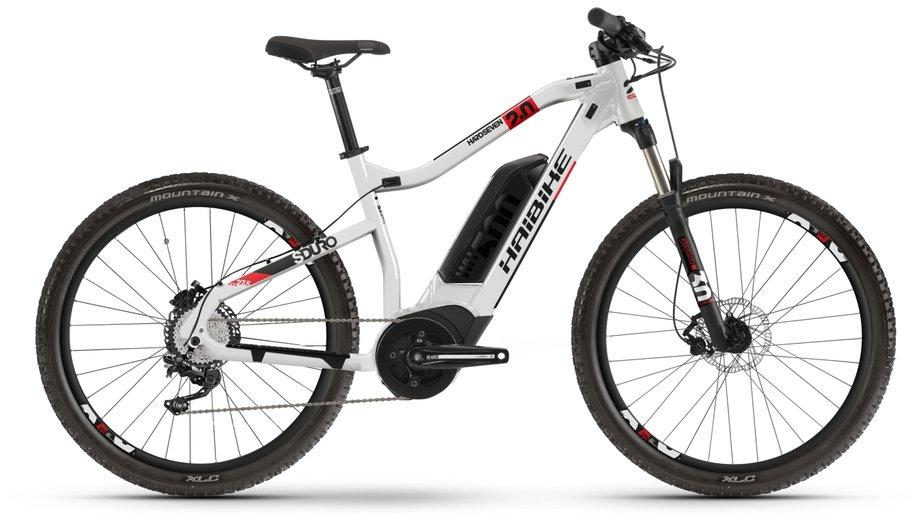 Haibike SDURO HardSeven 2.0 E-Bike Silber Modell 2020