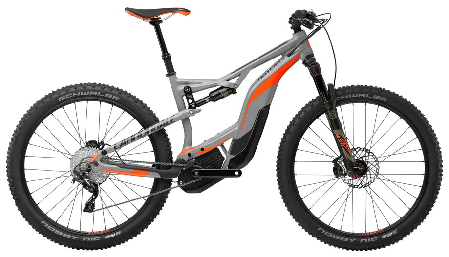 Cannondale Moterra 2 E-Bike Grau Modell 2018