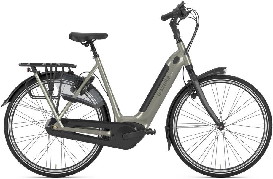 E-Bikes/e-bike: Gazelle  Grenoble C8 HMB Grau Modell 2021