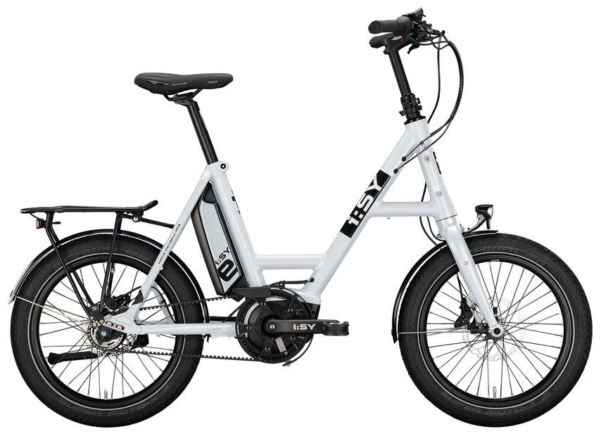 E-Bikes/e-bike: ISY  DrivE E5 ZR Weiß Modell 2021