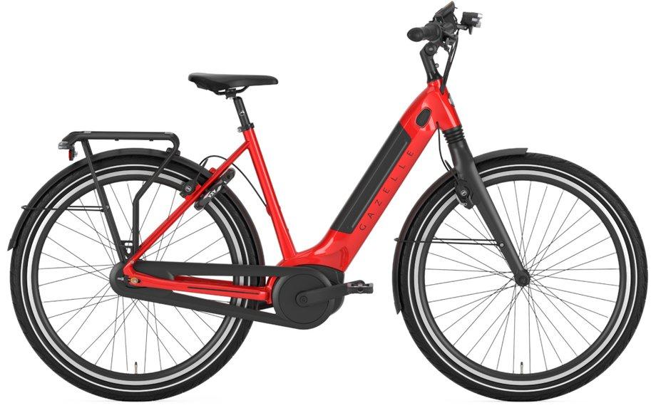 E-Bikes/e-bike: Gazelle  Ultimate C8+ HMB Rot Modell 2021