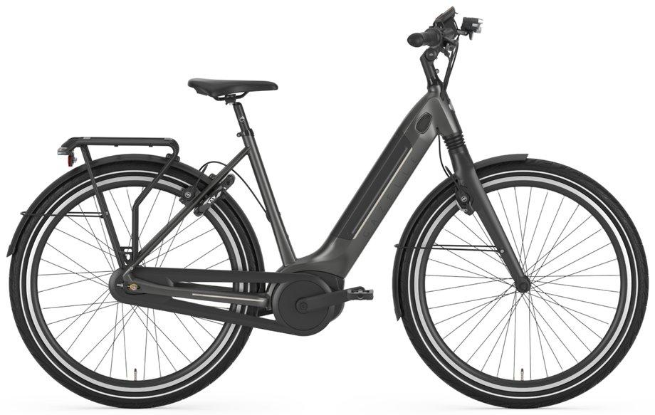 E-Bikes/e-bike: Gazelle  Ultimate C8+ HMB Grau Modell 2021