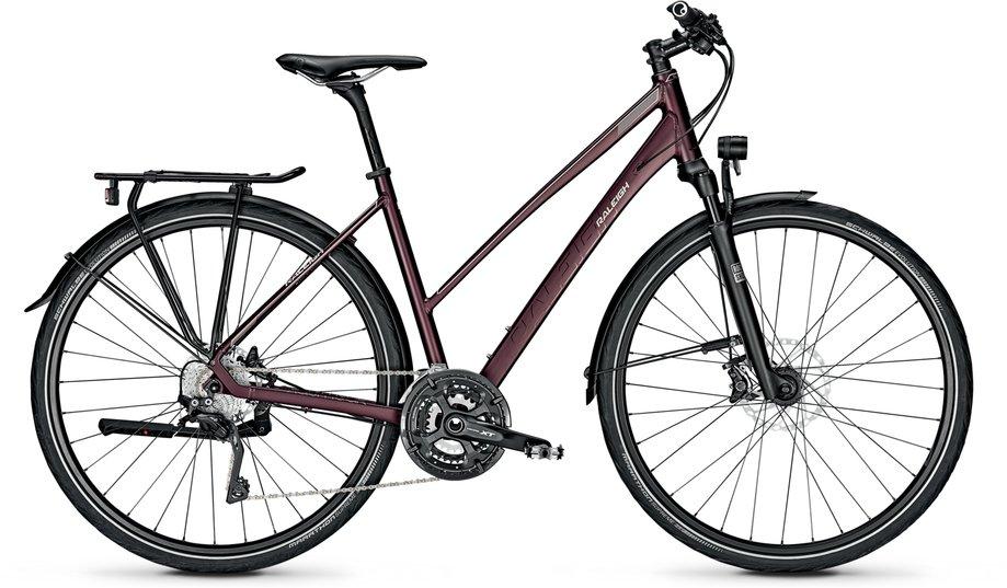 Raleigh Rushhour 7.0 Trekkingrad Rot Modell 2021