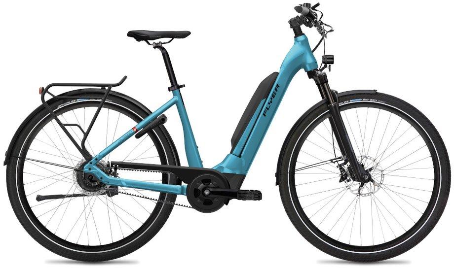 E-Bikes/e-bike: Flyer  Upstreet5 7.03 - D0 Blau Modell 2020