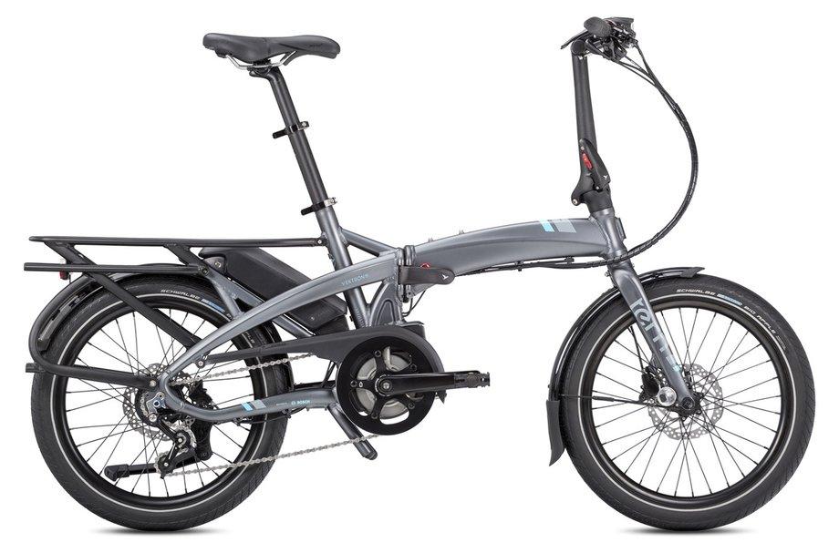 E-Bikes/e-bike: Tern  Vektron P7i LR mit Beleuchtung Grau Modell 2020