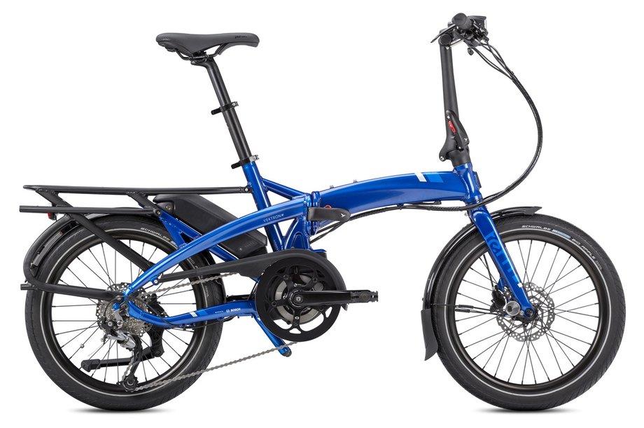E-Bikes/e-bike: Tern  Vektron Q9 LR mit Beleuchtung Blau Modell 2020
