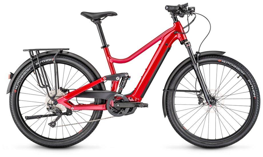 E-Bikes/e-bike: Moustache  Samedi Xroad FS 5 Rot Modell 2020