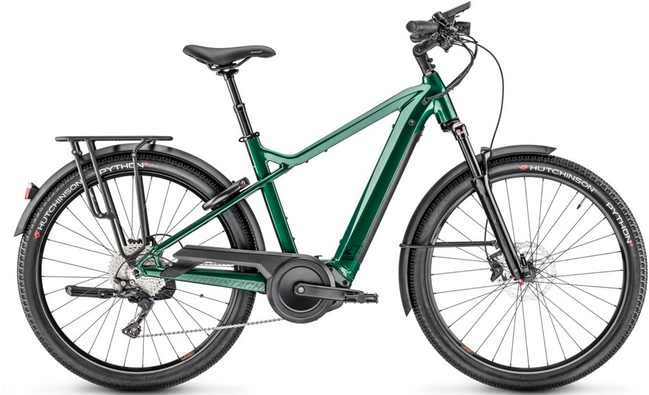 E-Bikes/e-bike: Moustache  Samedi Xroad 7 Grün Modell 2020