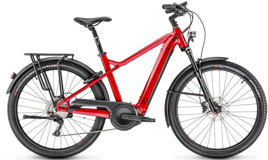 E-Bikes/e-bike: Moustache  Samedi Xroad 5 Rot Modell 2020