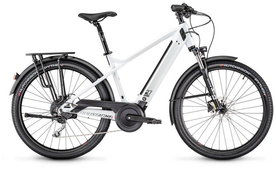 E-Bikes/e-bike: Moustache  Samedi Xroad 3 Weiß Modell 2020