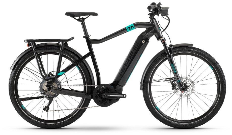 E-Bikes/e-bike: Haibike  SDURO Trekking 7.0 Schwarz Modell 2020