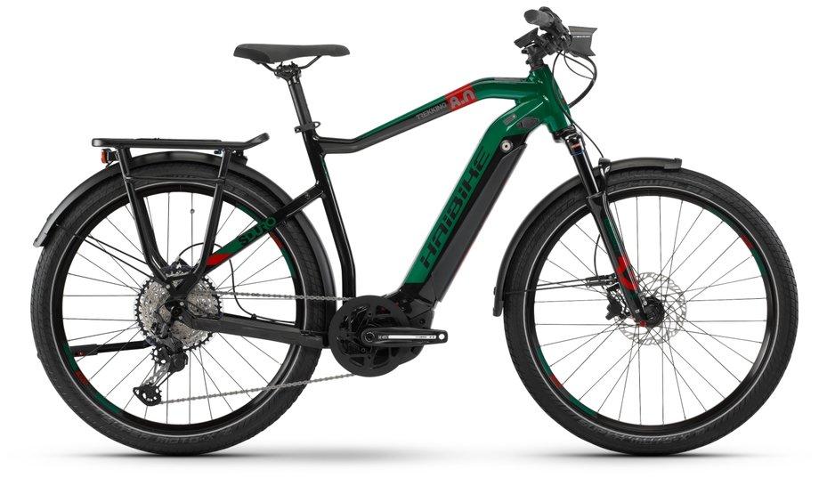 E-Bikes/e-bike: Haibike  SDURO Trekking 8.0 Schwarz Modell 2020