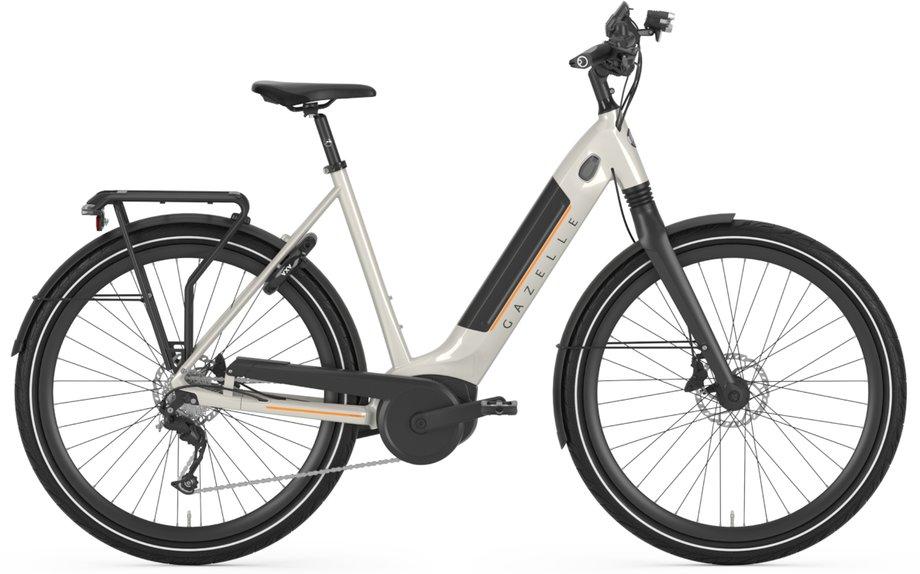 E-Bikes/e-bike: Gazelle  Ultimate T10 HMB Weiß Modell 2021