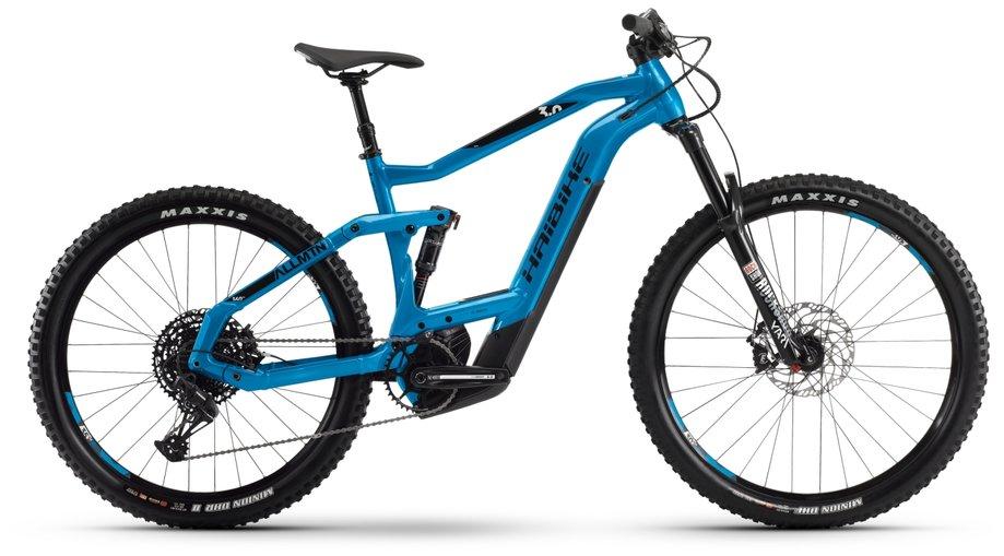 E-Bikes/e-bike: Haibike  XDURO AllMtn 3.0 Blau Modell 2020