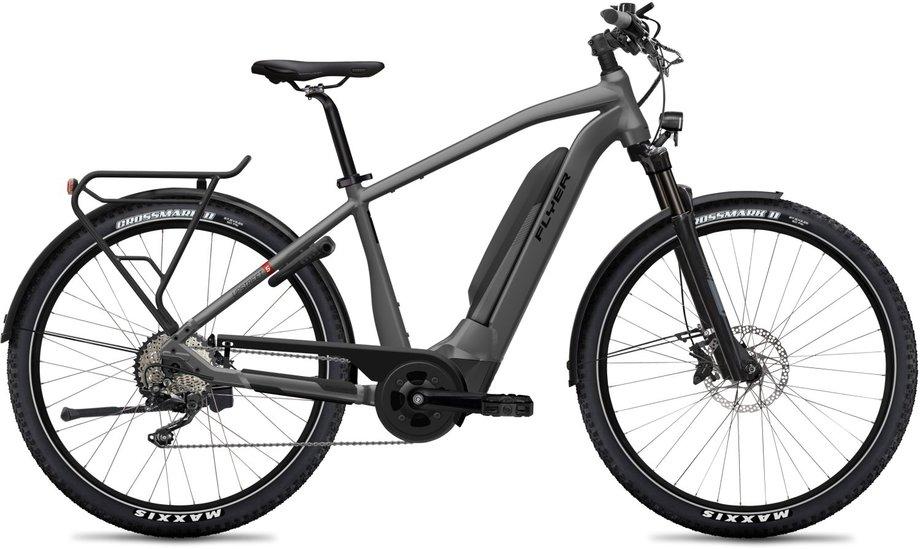 E-Bikes/e-bike: Flyer  Upstreet5 7.10 - D0 Grau Modell 2020