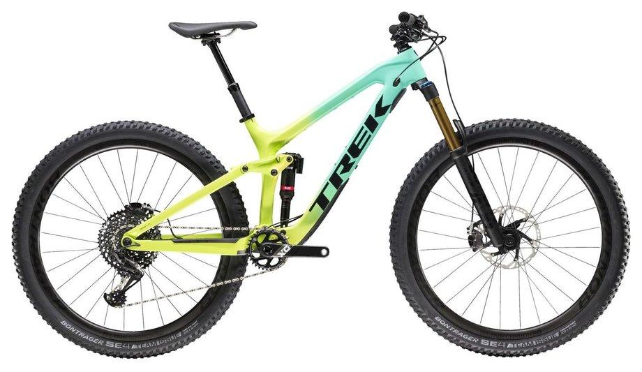 Fahrräder/Mountainbikes: Trek  Slash 9.9 Grün Modell 2019
