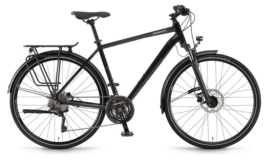 Fahrräder/trekkingräder: Winora  Domingo 30 Disc Schwarz Modell 2021