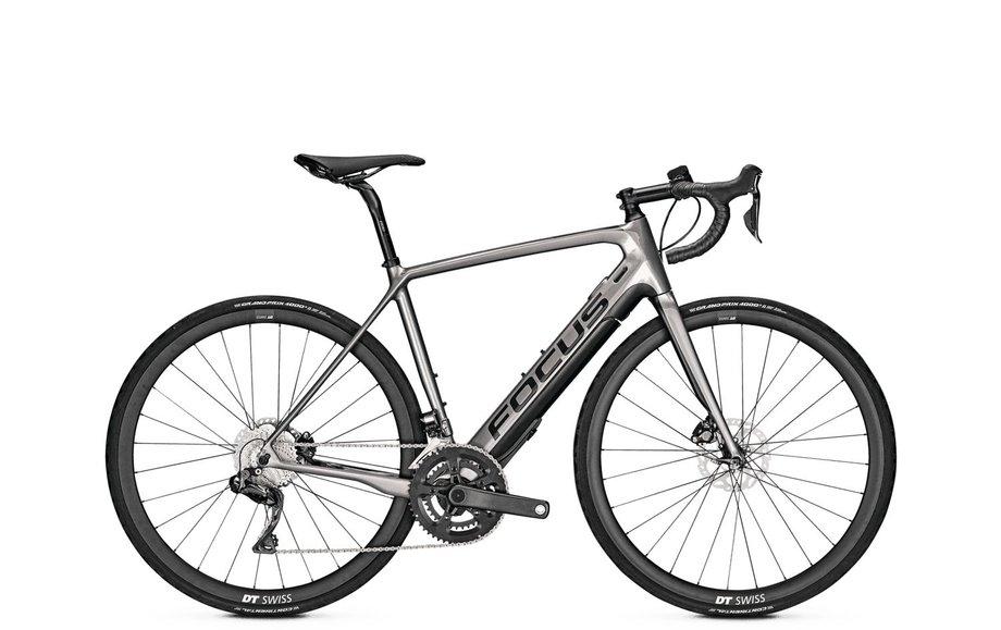 E-Bikes/e-bike: Focus  Paralane2 9.8 Di2 Schwarz Modell 2021