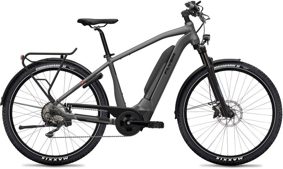 E-Bikes/e-bike: Flyer  Upstreet5 7.10 - D1 Grau Modell 2020