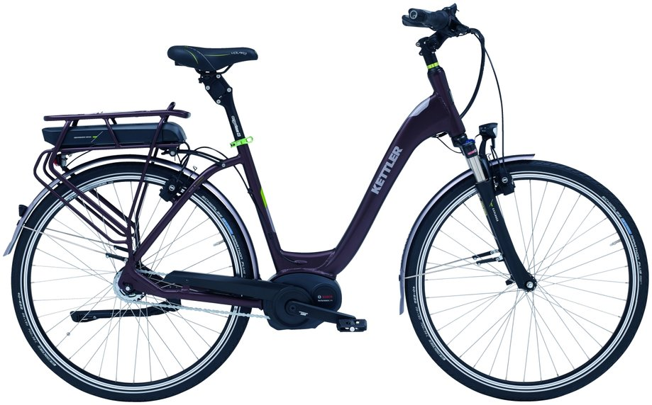 Kettler Explorer E Tour RT E-Bike Lila Modell 2018