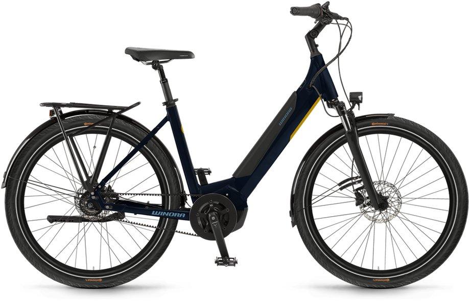 E-Bikes/e-bike: Winora  Yucatan R8f Blau Modell 2021