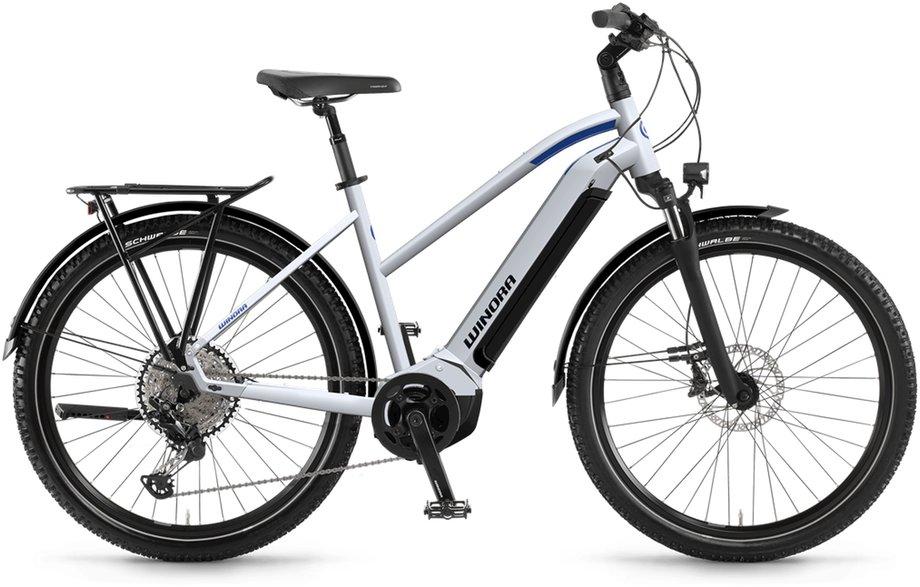E-Bikes/e-bike: Winora  Yucatan 12 Weiß Modell 2021