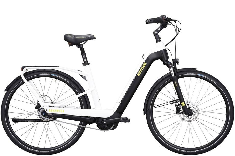 E-Bikes/e-bike: Kettler  Quadriga Plus 8 FL Weiß Modell 2021