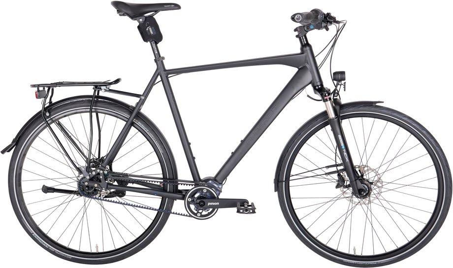 Fahrräder/citybike: Gudereit  LC-P 4.0 evo Schwarz Modell 2020